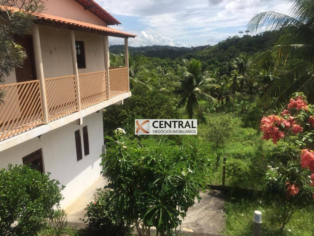 sítio com 4 dormitórios à venda, 20000 m² por r$ 1.200.000,00 - centro - candeias/ba - si0007