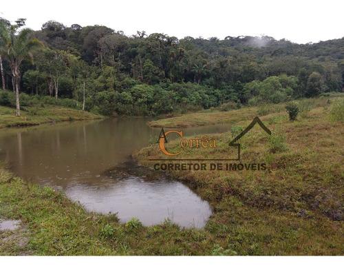 sitio com 4 lagos e ampla area de pastagem em juquitiba-sp