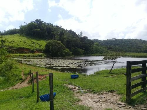 sítio com 43 alqueires ideal para criação, grande lago.