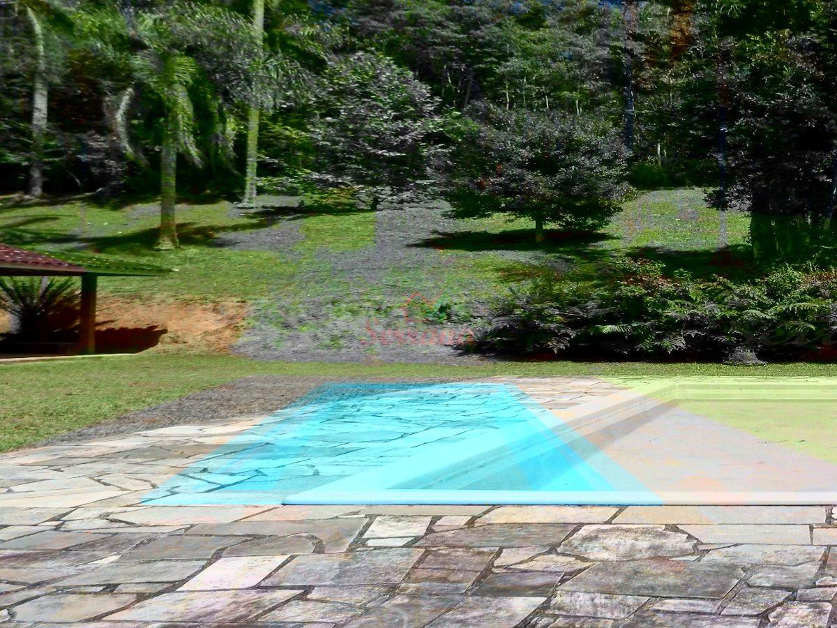 sítio com 5 alqueires e linda queda de água