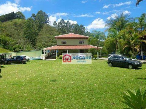sítio com 5 dormitórios à venda, 33000 m² por r$ 1.100.000,00 - souzas - monteiro lobato/sp - si0131