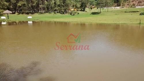 sítio com 5 lagos  7,5 alqueires 4 casas piscina