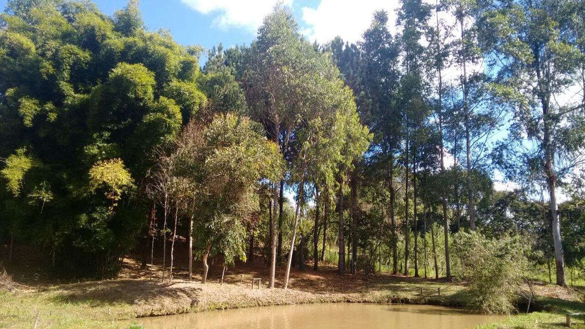 sitio com 50.000 metros quadrados em caxambu sul de minas , 09 klm da cidade, muita água,bom para piscicultura,  03 lagos com peixe. - 246