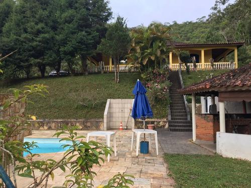 sítio com 65.000 m² apenas 1 km da br lago piscina