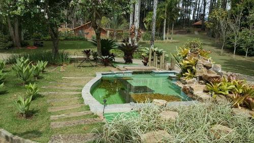 sítio com 8 dormitórios à venda, 27000 m² por r$ 2.900.000 - campanha - teresópolis/rj - si0081