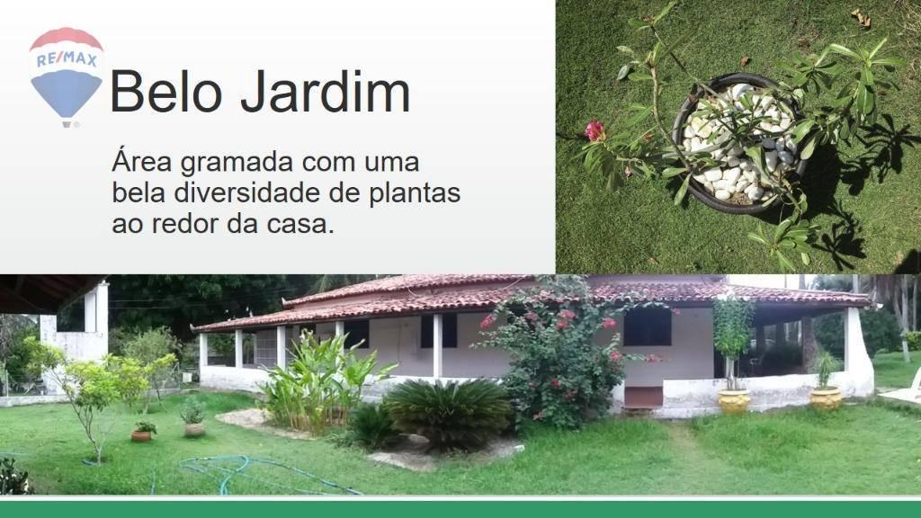 sitio com casa sede à venda, 550 m² - mestre antônio - caucaia/ce - ca0184