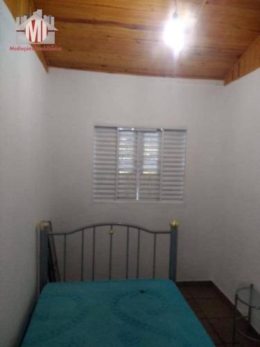 sítio com escritura, rico em água com 03 dormitórios à venda, 40320 m² por r$ 240.000  - pedra bela/sp - si0027