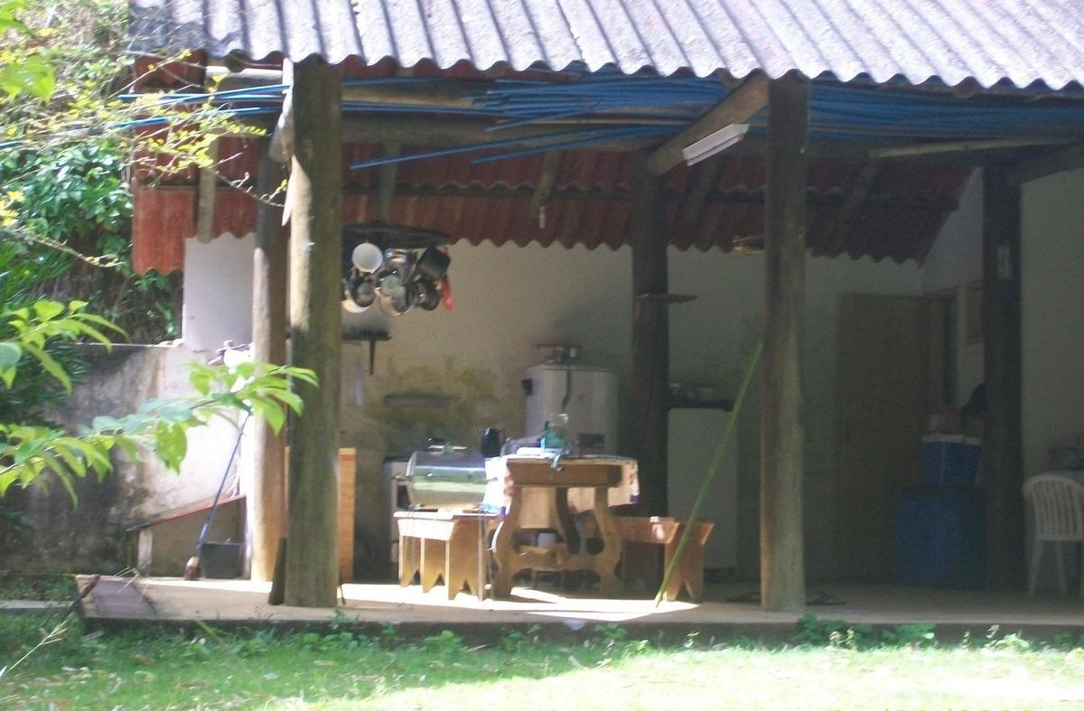 sítio - com lindo chalé de madeira - oportunidade