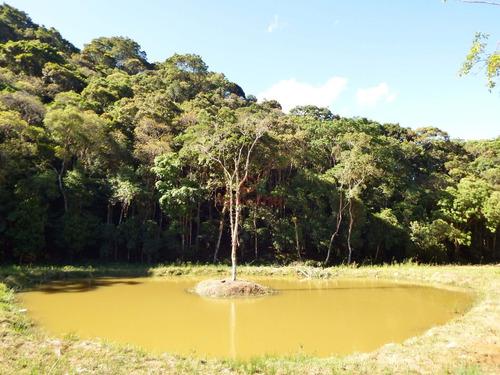 sítio com ótima localização, cachoeira e lago.