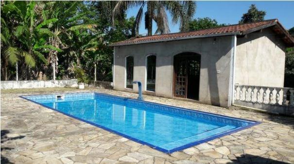 sítio com piscina 100.000 m² pomar 1,5 km da rodovia