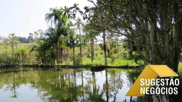 sítio completo em piedade com lagos e equipamentos - 2736