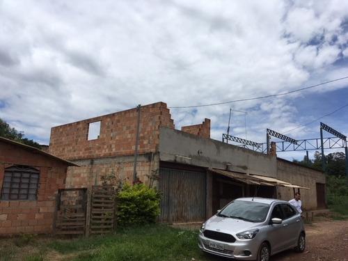 sítio de 360m2 com 3 casas em igarapé