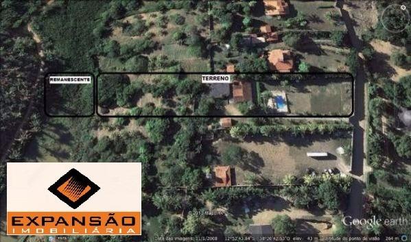 sítio de 8.220m² no quintas do picuaia - lauro de freitas/ba - t1403 - 3496133