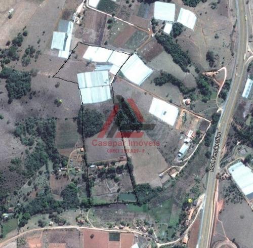 sítio em cambuí 75000m² com 2 casas - estuda permuta - 2133