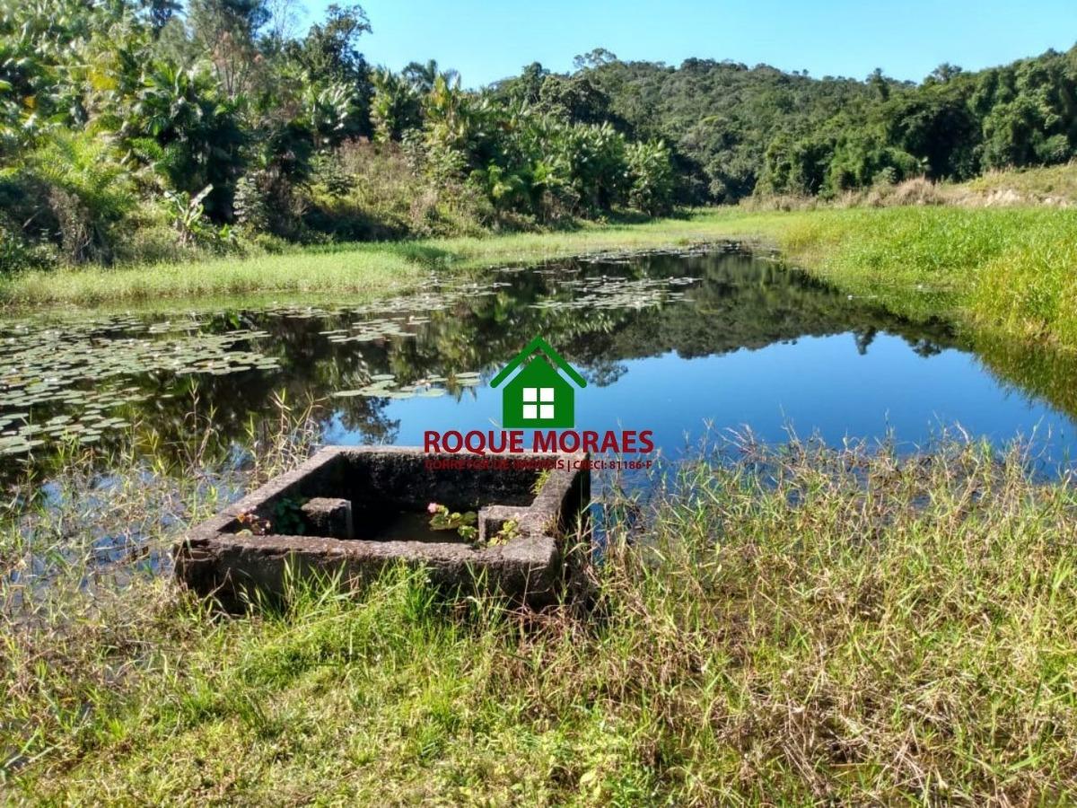 sítio em juquiá - lagos pra pesca, piscinas ref:0092