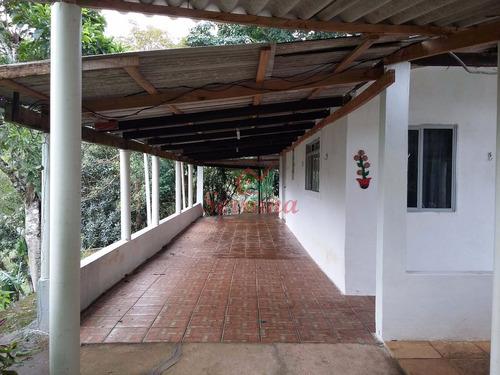 sítio em juquitiba com 60.000 m² ideal para criação e