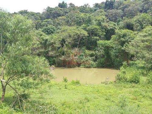 sítio em juquitiba excelente para criação com lago