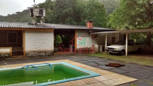 sítio em juquitiba ótima localização rico em água c piscina