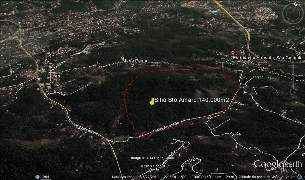 sítio em rio do ouro, são gonçalo/rj de 0m² à venda por r$ 900.000,00 - si215991
