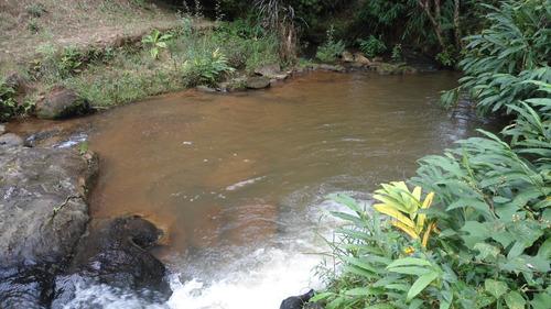 sítio em são francisco xavier com riacho e casa - 493