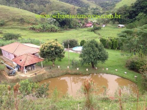 sítio em são francisco xavier-piscina-lago-riacho - 480
