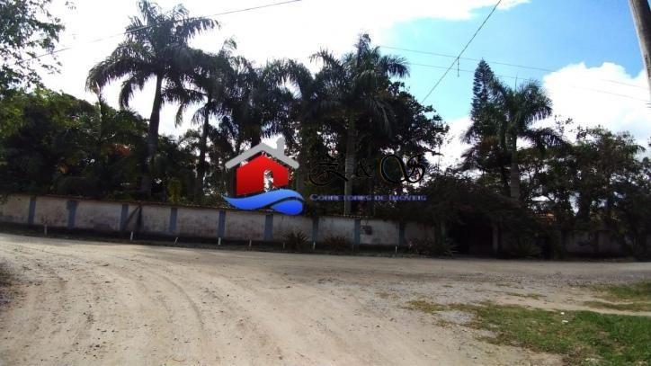 sitio espetacular medindo 12,650m² em itaipuaçu. - ch282
