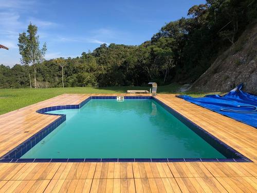 sitio fazenda chácara em juquitiba com piscina 12 alqueires