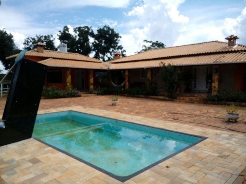 sítio jequitibá 10  hectares , casa com 04 quartos , toda fechada com alambrado, piscina , sauna , curral ,pasto formado. - 58