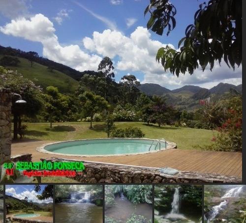 sítio -mansão belas cachoeiras em são francisco xavier - 209