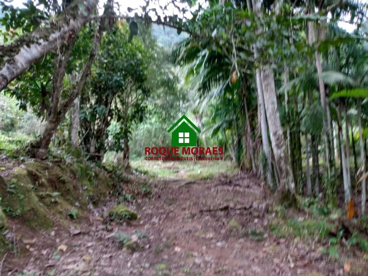 sítio miracatu,18 alqueires, casa modesta, nascente.ref:0071