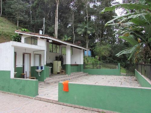 sitio moradia/sede/piscina/riacho/ref: 04631