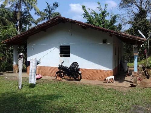 sítio, tanques de peixe, 2 casas, bananeiras, docs ok!