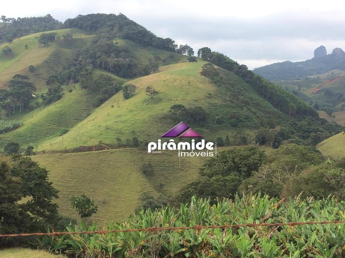 sítio à venda, 117000 m² por r$ 450.000,00 - zona rural - são bento do sapucaí/sp - si0022