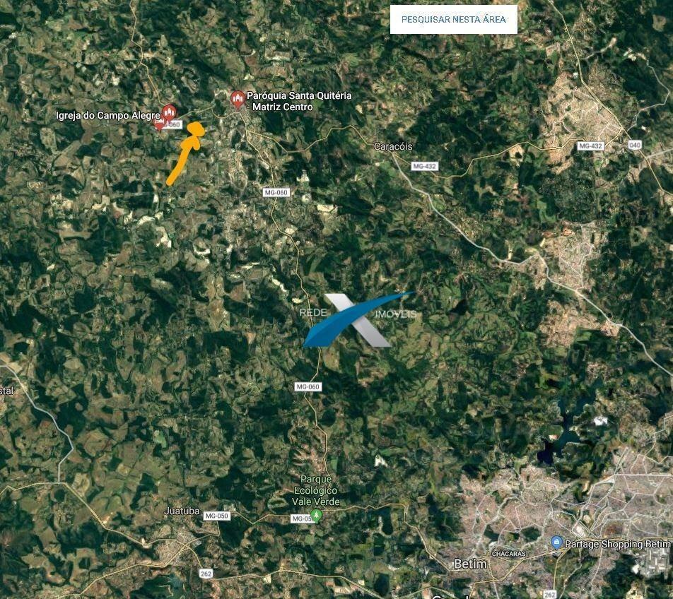 sitio à venda com 15 hectares em esmeraldas - mg - si0022