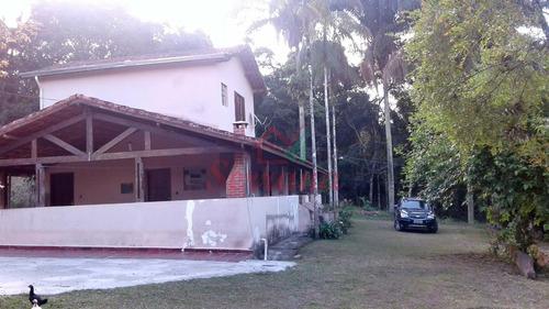 sítio à venda em juquitiba c/ 40.000 m² riacho pomar 2 casas