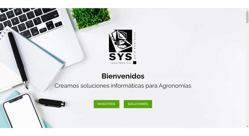 sitio web institucional, página web (desarrollo y/o diseño)