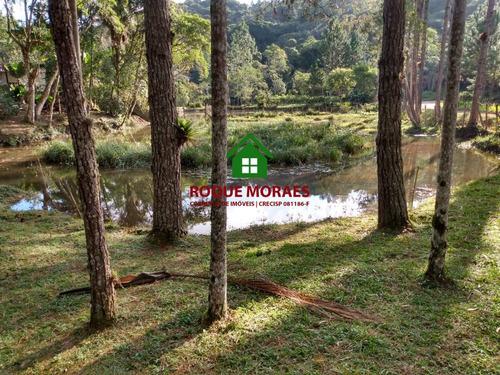 sítio,42.000m², 3 casas modestas, nascente, lagos. ref:0061