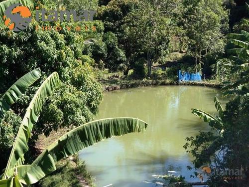 sítios, chácaras a venda em guarapari, é nas imobiliárias itamar imóveis - st00003 - 3282661