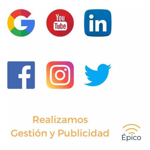 sitios web, e-commerce, gestión y publicidad