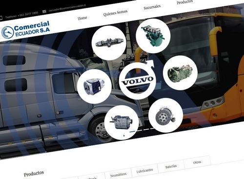 sitios web (sistemas de gestión, control de inventario, etc)