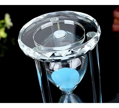 siveit reloj de arena de arena de cristal con caja de regalo
