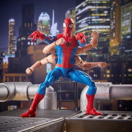 six-arm spider-man hombre araña 6 brazos marvel legends 6''