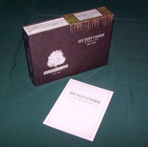 six feet under la serie completa importada boxset en dvd