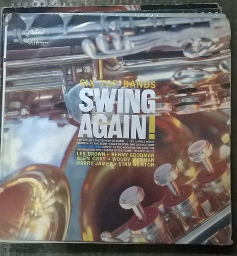 six tops bands swing again disco de vinilo