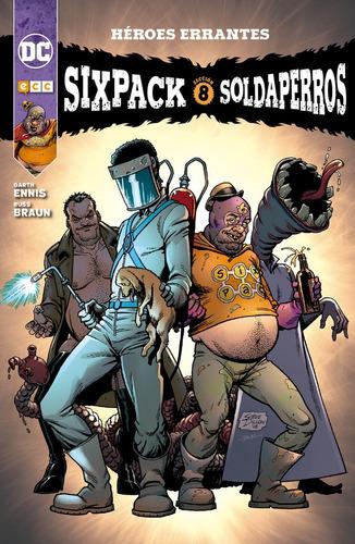 sixpack y soldaperros - dc ecc comics robot negro