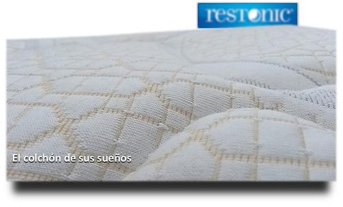 size restonic colchón king