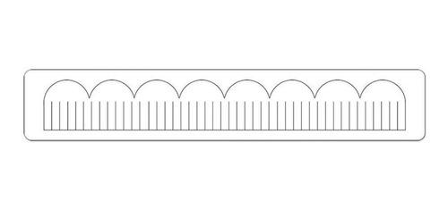 sizzix - faca de corte - scallop, fringed by deena ziegler