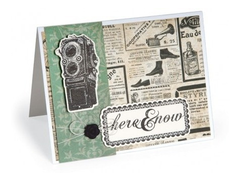 sizzix framelits kit for the record 2, documented #2