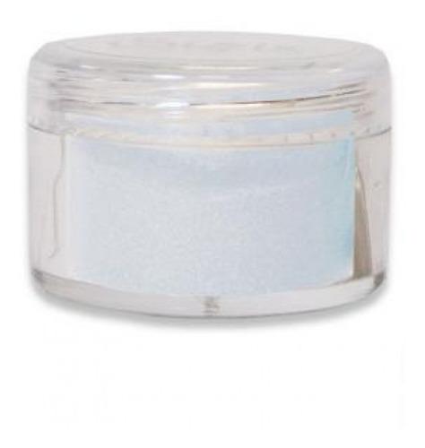 sizzix - pó para emboss - opaque embossing powder - artic sk