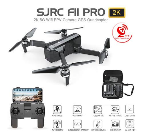 sj rc f11 pro 5g wifi fpv gps brushless rc drone 2k cámara